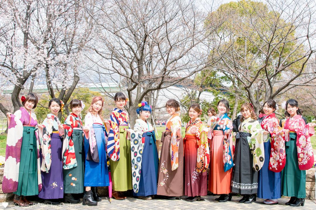 思い出を鮮やかに彩る「卒業式」おすすめの袴スタイルと選び方♪
