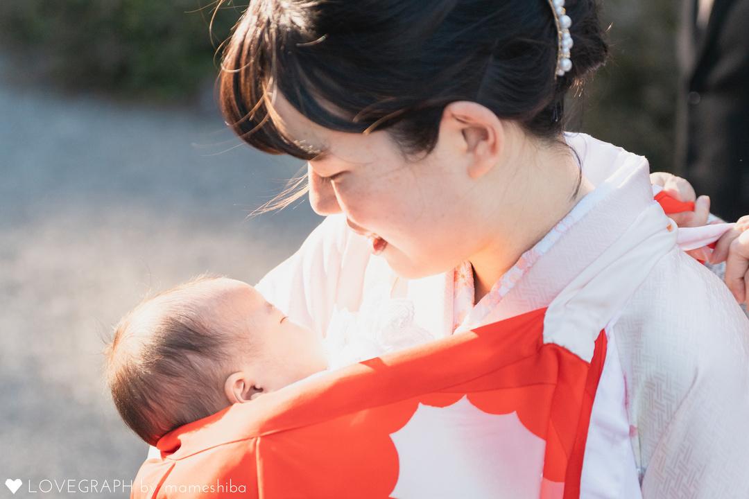 お宮参りの産着を飾る「背守り」とは?母から子へ贈る愛と願い