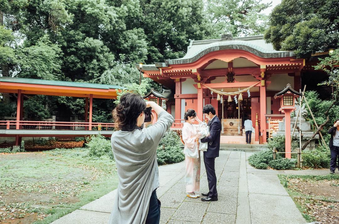 """家族にとって大切な記念""""お宮参り""""の撮影に密着♩ 撮影同行レポートvol.1  2番目の写真"""