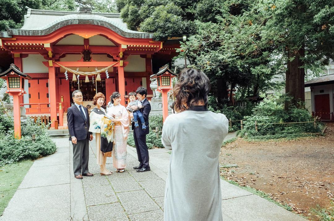 """家族にとって大切な記念""""お宮参り""""の撮影に密着♩ 撮影同行レポートvol.1  5番目の写真"""