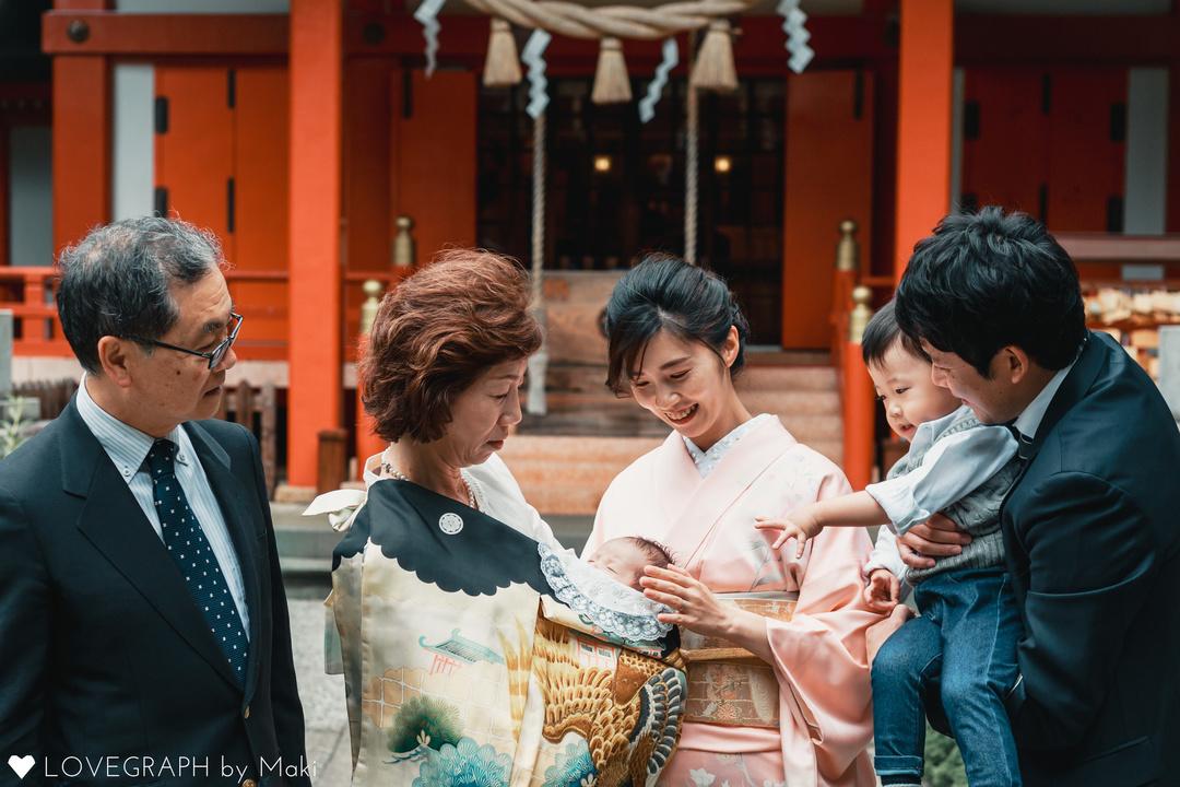 """家族にとって大切な記念""""お宮参り""""の撮影に密着♩ 撮影同行レポートvol.1  9番目の写真"""
